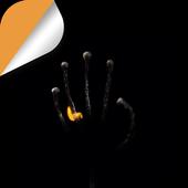 Burning Hand icon