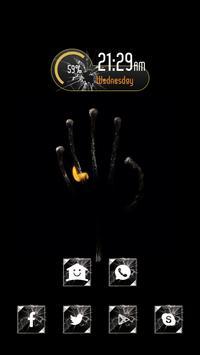 Burning Hand poster