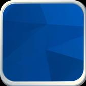 Blue Triangle icon