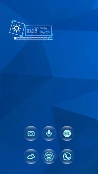 Blue Triangle apk screenshot