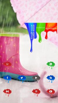 Boots and Umbrella poster