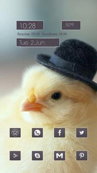 Chicken With a Hat poster