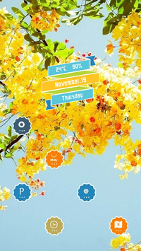 Clusters of Yellow Flowers screenshot 2