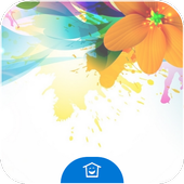 Colored Flowers icon