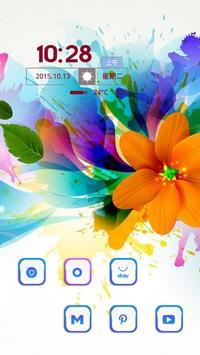 Colored Flowers apk screenshot
