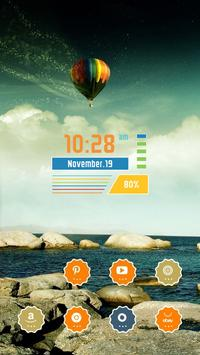 Colorful Hot Air Balloon screenshot 1