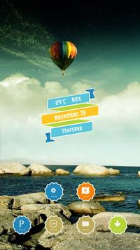 Colorful Hot Air Balloon screenshot 2