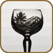 Elegant Wine Glass icon