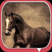Fine horse icon