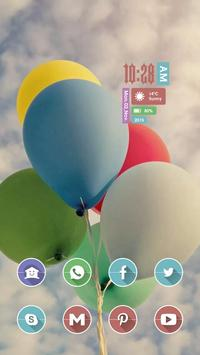 Floating Balloon poster