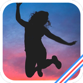 Jumping Woman icon