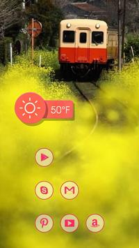 Little Red Train and Flower screenshot 1