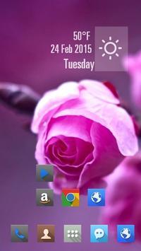 Purple Flowers apk screenshot