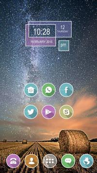 Paddy Field Under the Stars poster