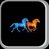 Playful Horses icon