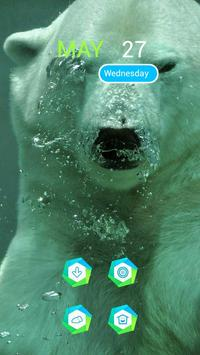 Polar Bear in the Water apk screenshot
