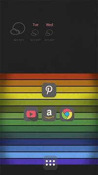 The Colorful Rainbow Bar apk screenshot