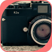 The Deep Blue Camera icon