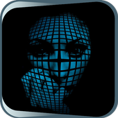 The Face Covered with a Grid icon