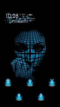 The Face Covered with a Grid apk screenshot
