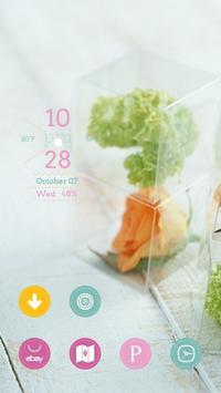 Transparent Box of Flowers apk screenshot