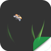 Transparent Flame Butterfly icon