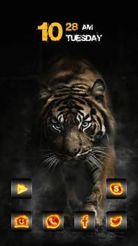Walking Tiger poster