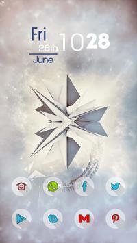 White Background poster