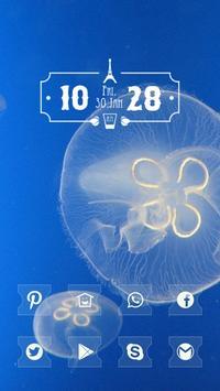 White Jellyfish poster