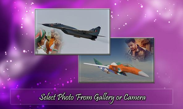 Air Force Photo Frame poster