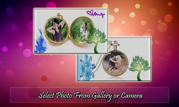 Locket Photo Frame poster