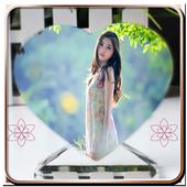 Love Heart Photo Frame icon