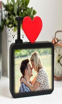 Love Heart Photo Frame poster