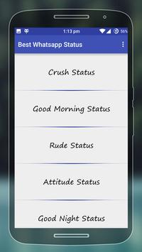 Best WhatsApp Status apk screenshot