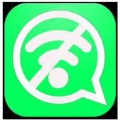 واتس اب بدون انترنت -prank icon