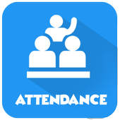 Paperless attendance system icon