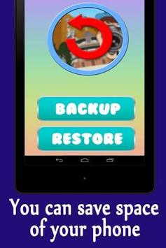 Backups Data screenshot 1