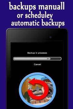 Backups Data screenshot 2