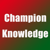 Champion knowledge icon