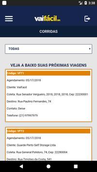 VaiFacil - para motoristas screenshot 1
