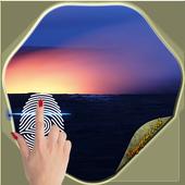 Fingerprint Volcanic - Fake icon