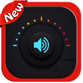 Volume Booster equalizer sound booster icon