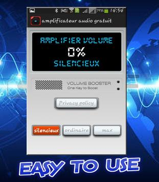 Volume Booster equalizer sound booster poster