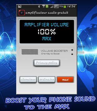 Volume Booster equalizer sound booster apk screenshot