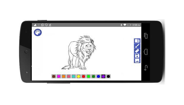 Pintar e deseñar screenshot 2