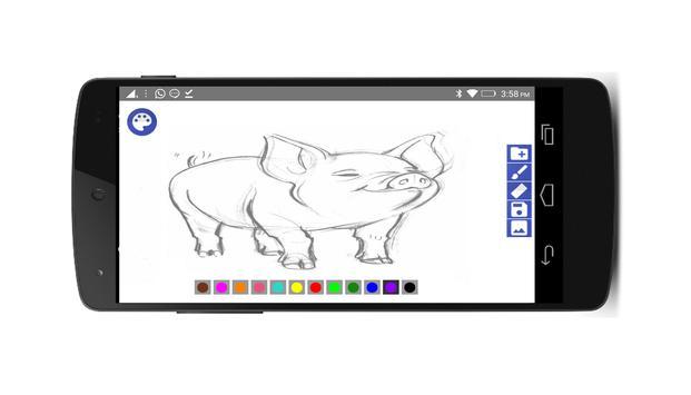 Pintar e deseñar screenshot 3