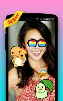 Photo Stickers for Pokemon Go screenshot 1