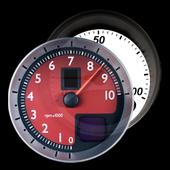 Battery Car Dashboard Widget icon