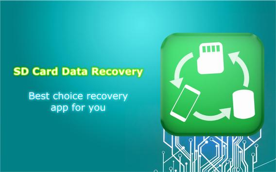 SD Card Data Recovery poster