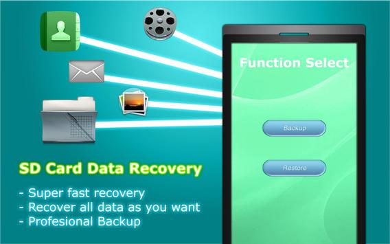 SD Card Data Recovery screenshot 1